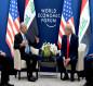 رئاسة الجمهورية تعلن تفاصيل لقاء صالح وترامب على هامش منتدى دافوس