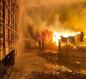بالفيديو .. حريق كبير في السعودية