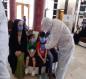 بالصور:مُغادرة ( 293 ) مُلامساً مع مُصابي كُورونا من الحجر الصحي في كربلاء