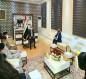 رئيس الوزراء مصطفى الكاظمي يصل كربلاء ويلتقي بمسؤوليها (صوره)