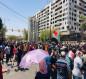 """صور.. حملة الشهادات العليا يغلقون شوارع بغداد للمطالبة """"بالحقوق"""""""