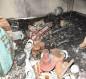 بالصور:شاهد اثار الحريق الذي اندلع في المستشفى التركي بكربلاء والمحافظ يفتح تحقيق ويحجز المقصرين
