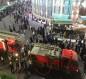 بالصور:حريق في فندق قرب مرقد الامام العباس وسط كربلاء
