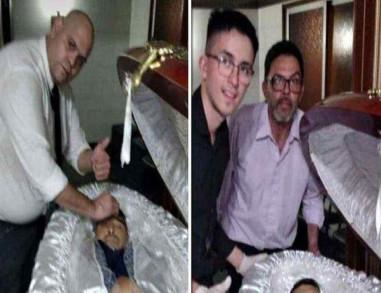 شاهد : الجماهير تقتل مغسل مارادونا بسبب صورة السيلفي