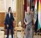 بالفيديو.. بارزاني والحلبوسي يتفقان على ست نقاط في الشأن العراقي