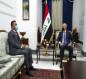 صالح يستقبل وزير الصحة ويبحث معه موقف الجائحة في العراق