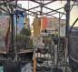 هذا ما خلفه هجوم المسلحين على ساحة الحبوبي وسط الناصرية ليلة امس