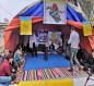 بالصور: ندوة حوارية يقيمها محتجون مع دائرة صحة كربلاء بخصوص فايروس كورونا في ساحة الاحرار