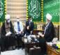 الشيخ الكربلائي يوعز بدعم مرقد ديني في قضاء طوريج وزراعة طريق ياحسين من كربلاء الى النجف ومحور كربلاء- بابل