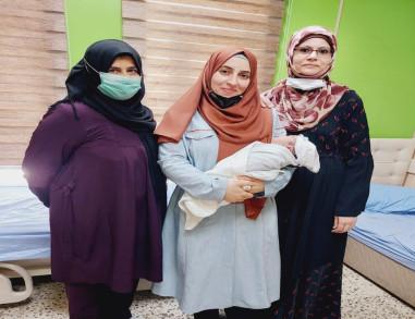 مستشفى النسائية والتوليد بكربلاء يشهد أول ولادة طبيعية بدون ألم لإمرأة عشرينية