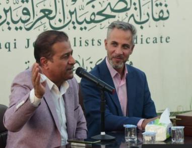 الصحفي عبد الأمير الكناني ضيفاً في امسية نقابة الصحفيين بكربلاء