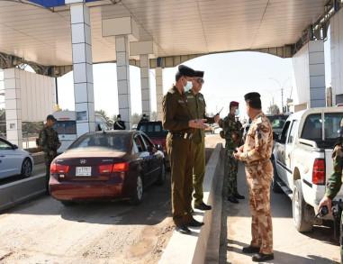 كربلاء .. وصول وزير الدفاع الى المحافظة وقطع جميع المداخل