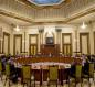 اجتماع سياسي واسع بحضور الكاظمي ينتهي بعقد الانتخابات بموعدها والترحيب بالاتفاق مع امريكا