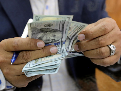 The exchange rates of the dollar and foreign currencies in the Iraqi market