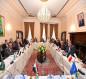 لجنة عراقية أردنية فرنسية تحضر لمؤتمر بغداد المقبل