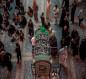 بالصور:احياء ذكرى شهادة الامام الحسن العسكري في كربلاء والنعش الرمزي داخل صحن الامام الحسين (عليه السلام )