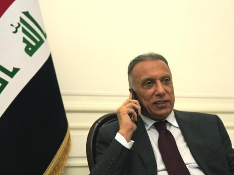 الكاظمي يتصل بمحمود عباس ويجدد موقف العراق الثابت من القضية الفلسطينية
